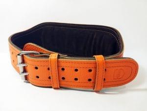 Пояс штангиста оранжевый