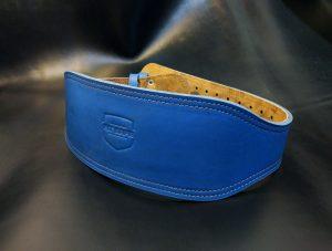 Пояс атлетический 12 см синий