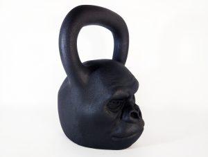 Гиря дизайнерская горилла
