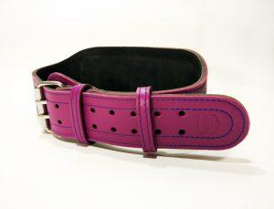 Пояс атлетический фиолетовый 6